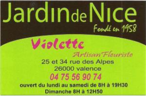 Jardin de Nice
